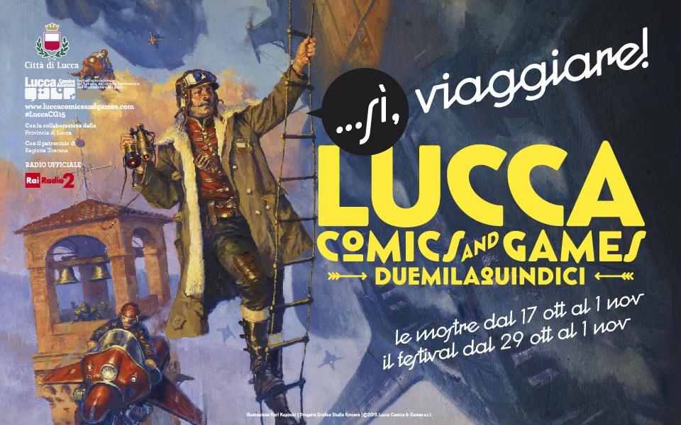 Banner Lucca Comics&Games